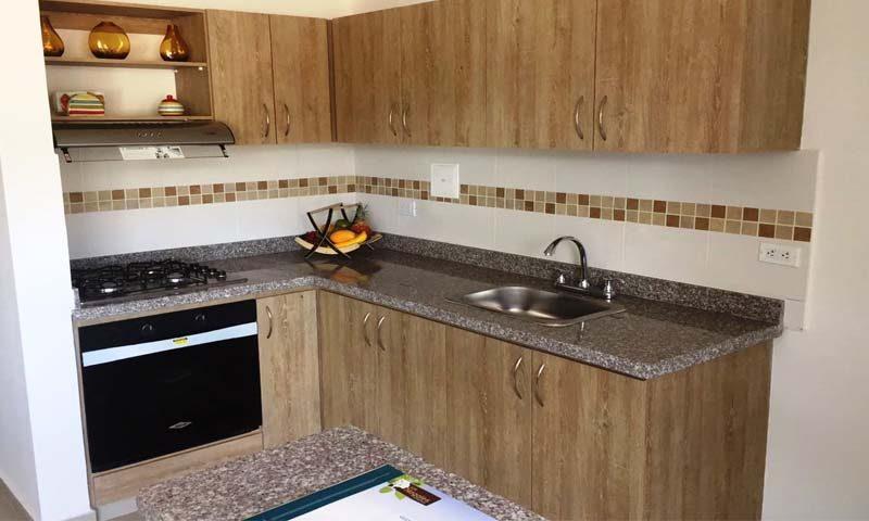 Cocina Los Nogales condominio